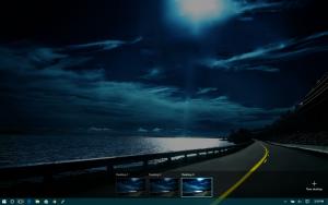 Windows Key + Tab desktop